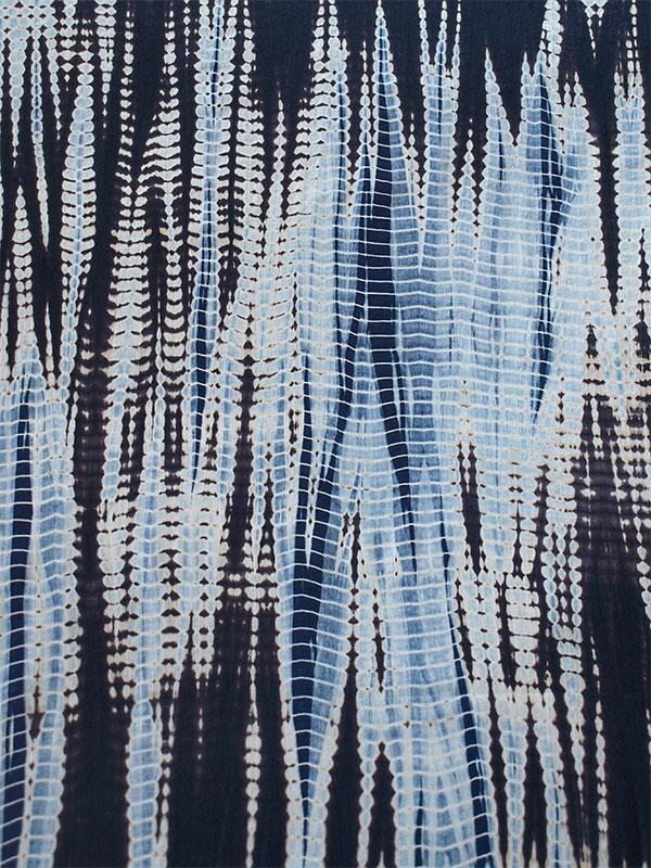 2 189 Yards Hand Dyed Shibori Fabric India Cotton Bandhani